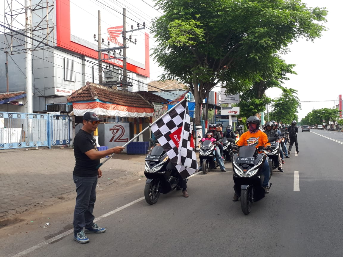 MPM Sukses Gelar PCX Day Serentak di Jatim