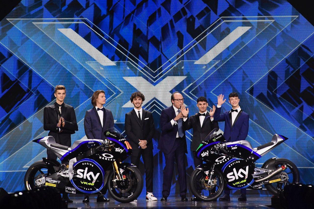 Livery Tim Sky VR46 Racing 2019 Resmi dirilis