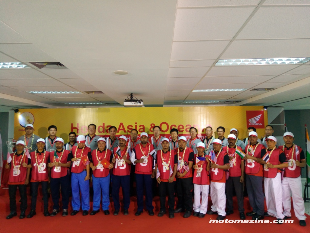 Indonesia Siap Bidik Teknisi Terbaik Honda se-Asia Oceania