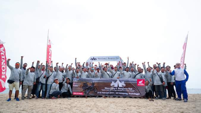 Makin Solid, Ngecamp bareng di Honda Bikers Camp 2019