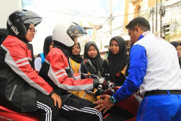 Lagi, MPM Dukung Program Millenial Road Safety Festival Roadshow ke-4 di Kediri
