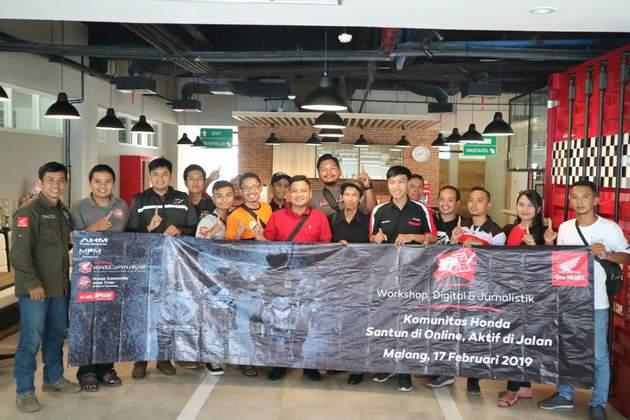 MPM Fasilitasi Komunitas Honda Belajar Jurnalistik dan Sosmed